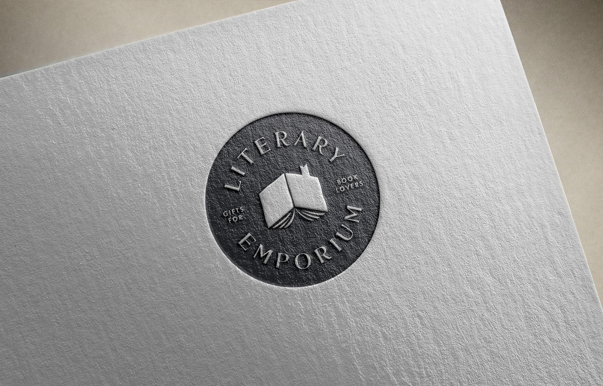 New Logo and Identity for Literary Emporium by Fiasco Design