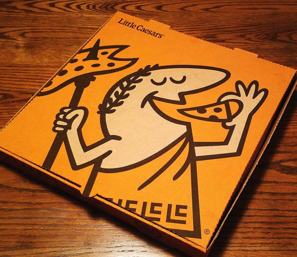 New Logo for Little Caesars