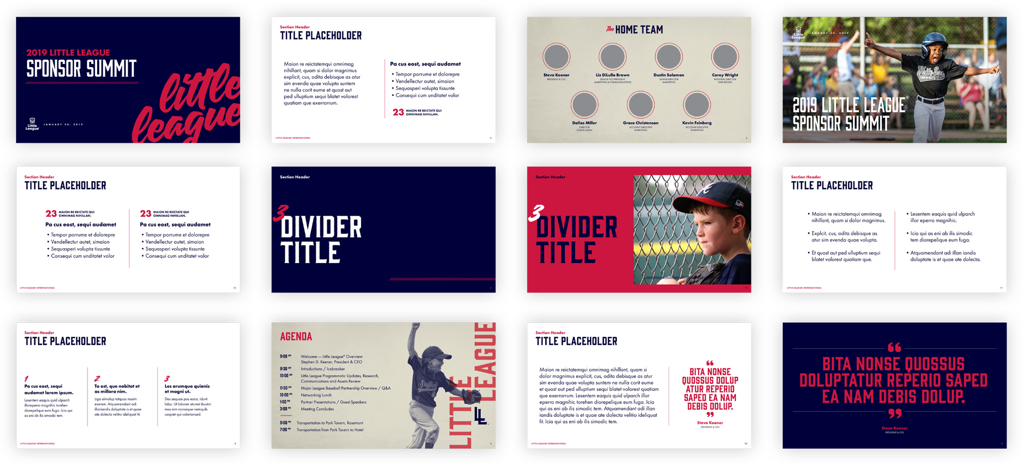 New Logo and Identity for Little League by Ologie