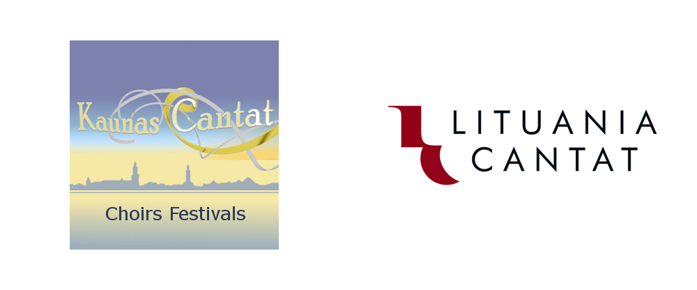 New Logo and Identity for Lituania Cantat by Rebrand