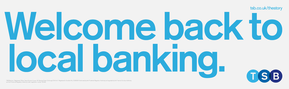 New Logos for TSB and Lloyds Bank by Rufus Leonard