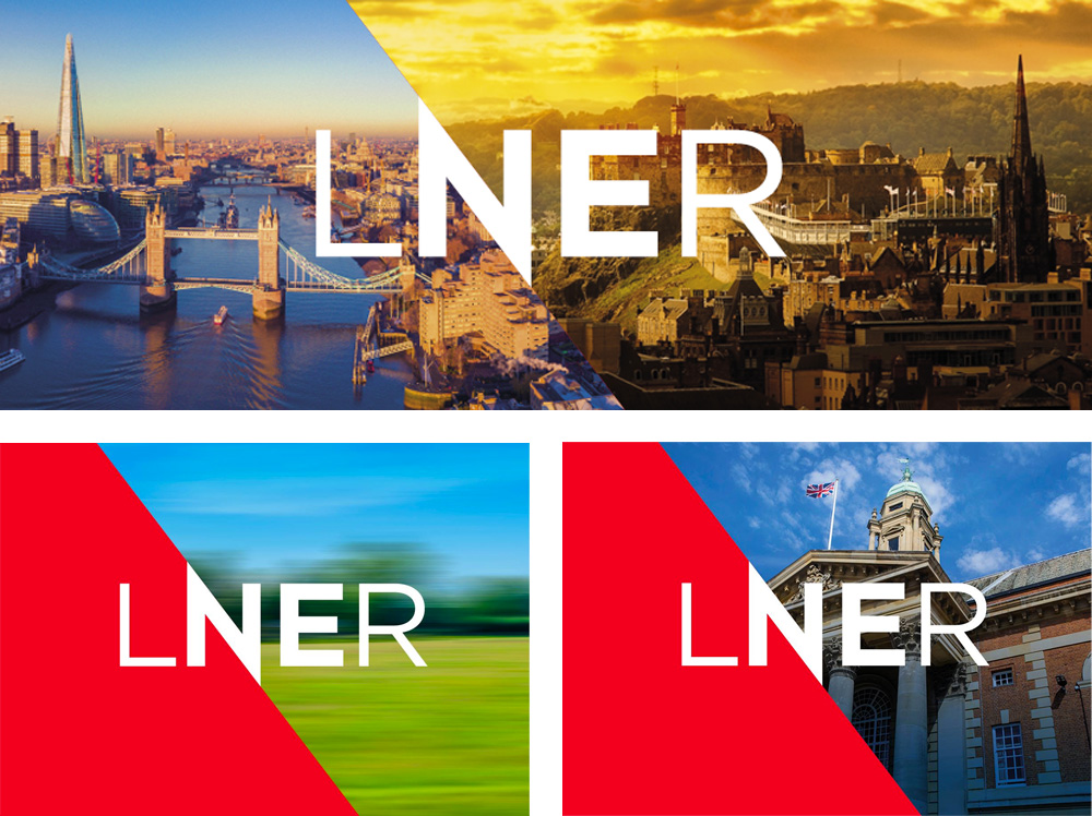 New Logo and Identity for LNER by Brand Cooke
