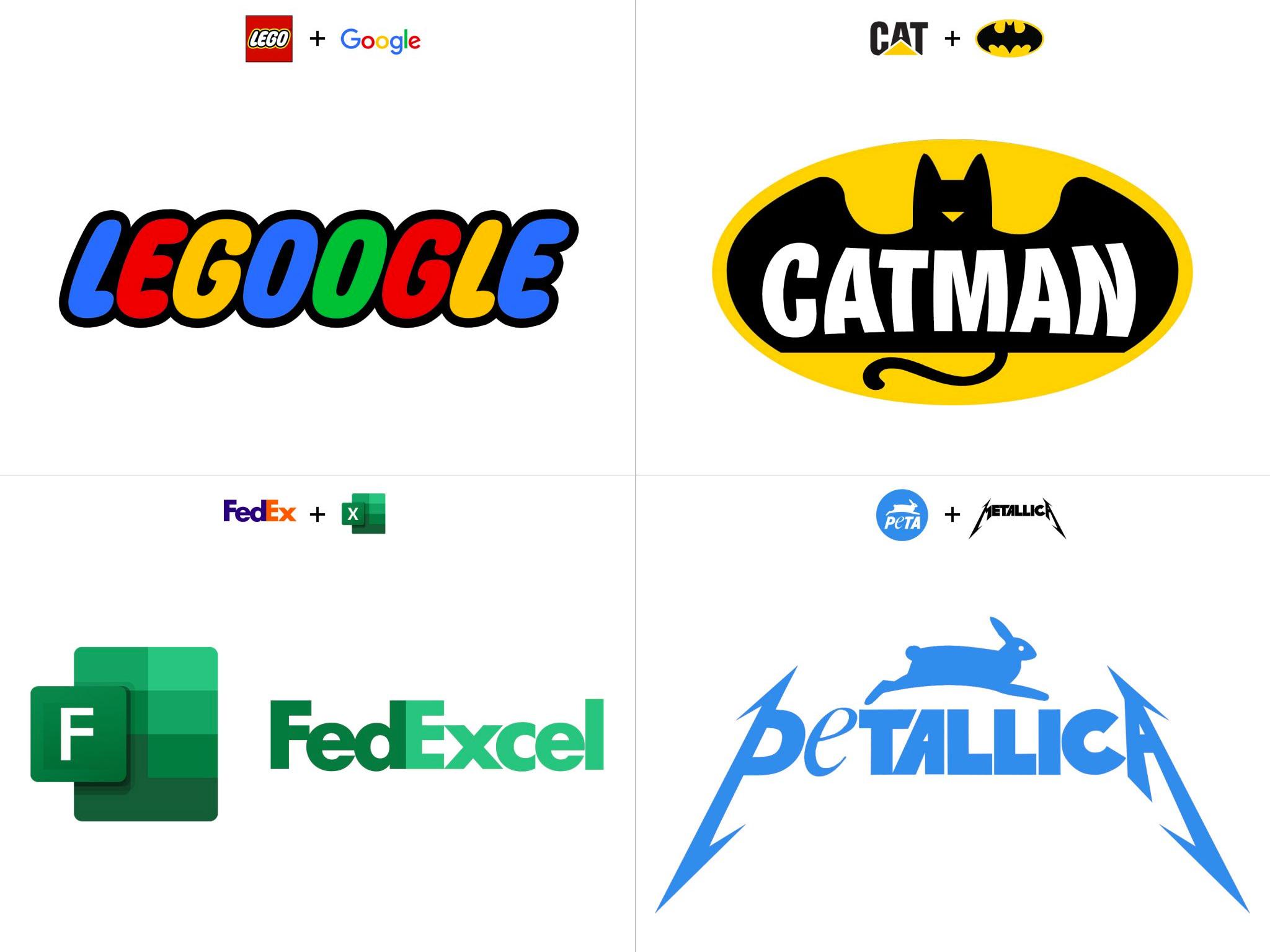 Brand New Logo Mash Ups
