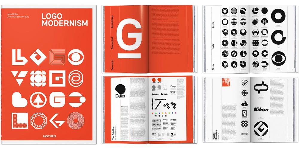 brand new logo modernism