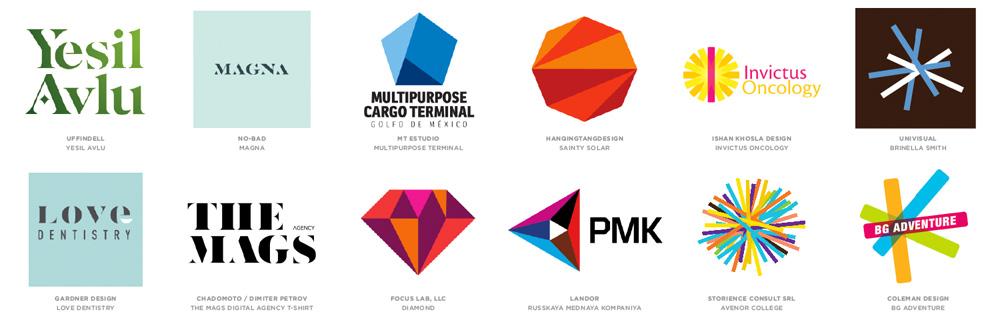 Modern Logo Design Trends: Brand New: 2014 Logo Trends