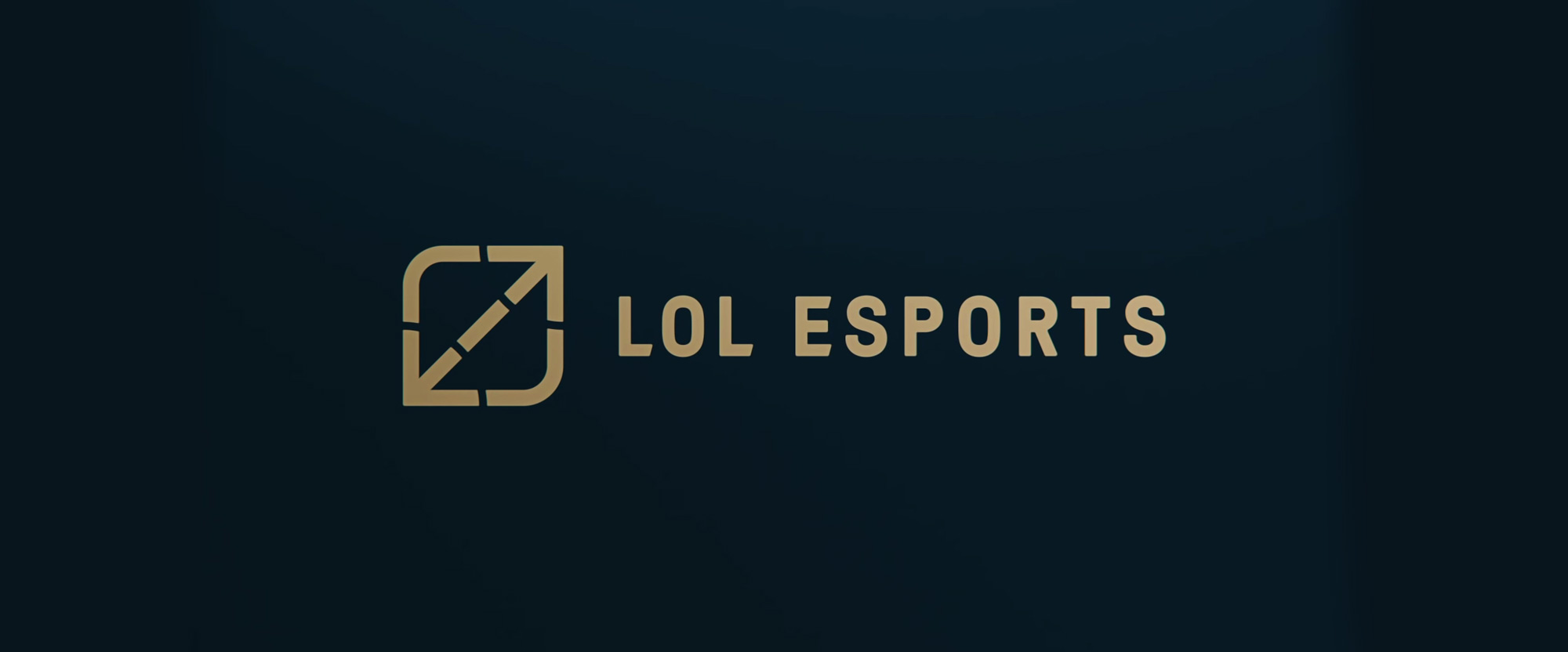 New Logo and Identity for LoL Esports