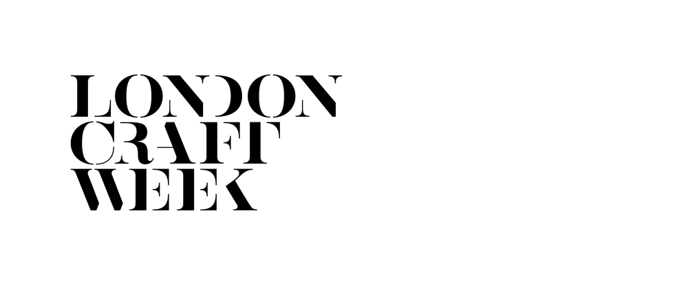 New Logo and Identity for London Craft Week by The Partners