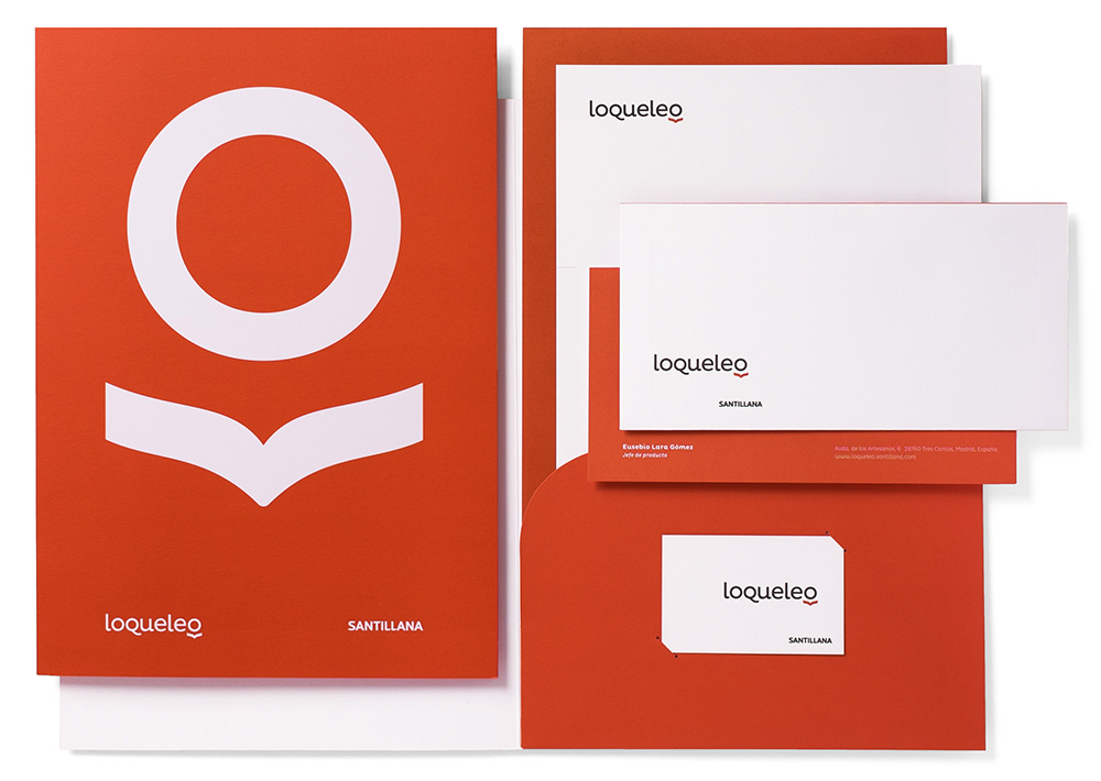 New Name, Logo, and Identity for Loqueleo by Pep Carrió