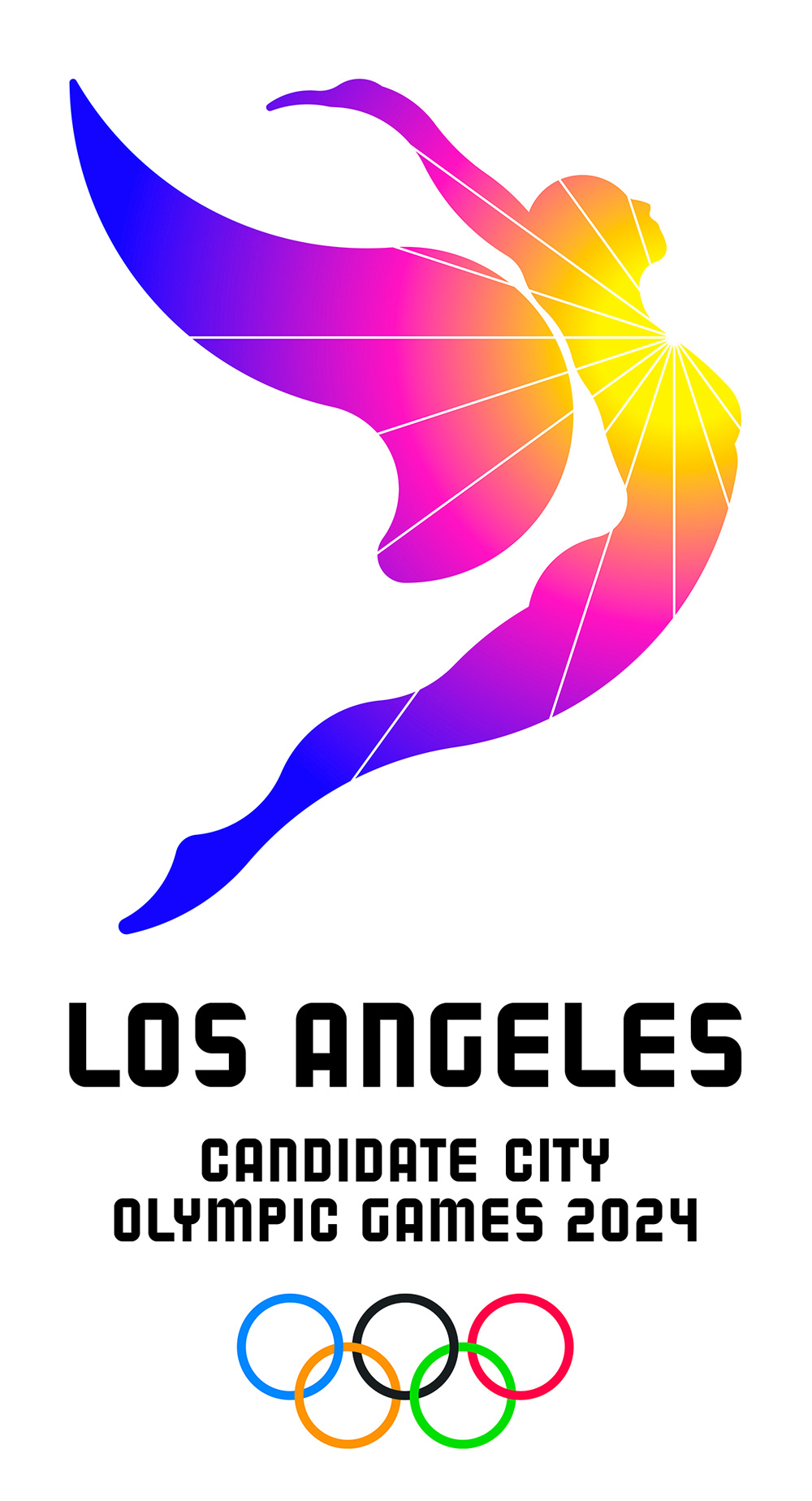 New Logo for LA 2024 Candidate City by 72andSunny