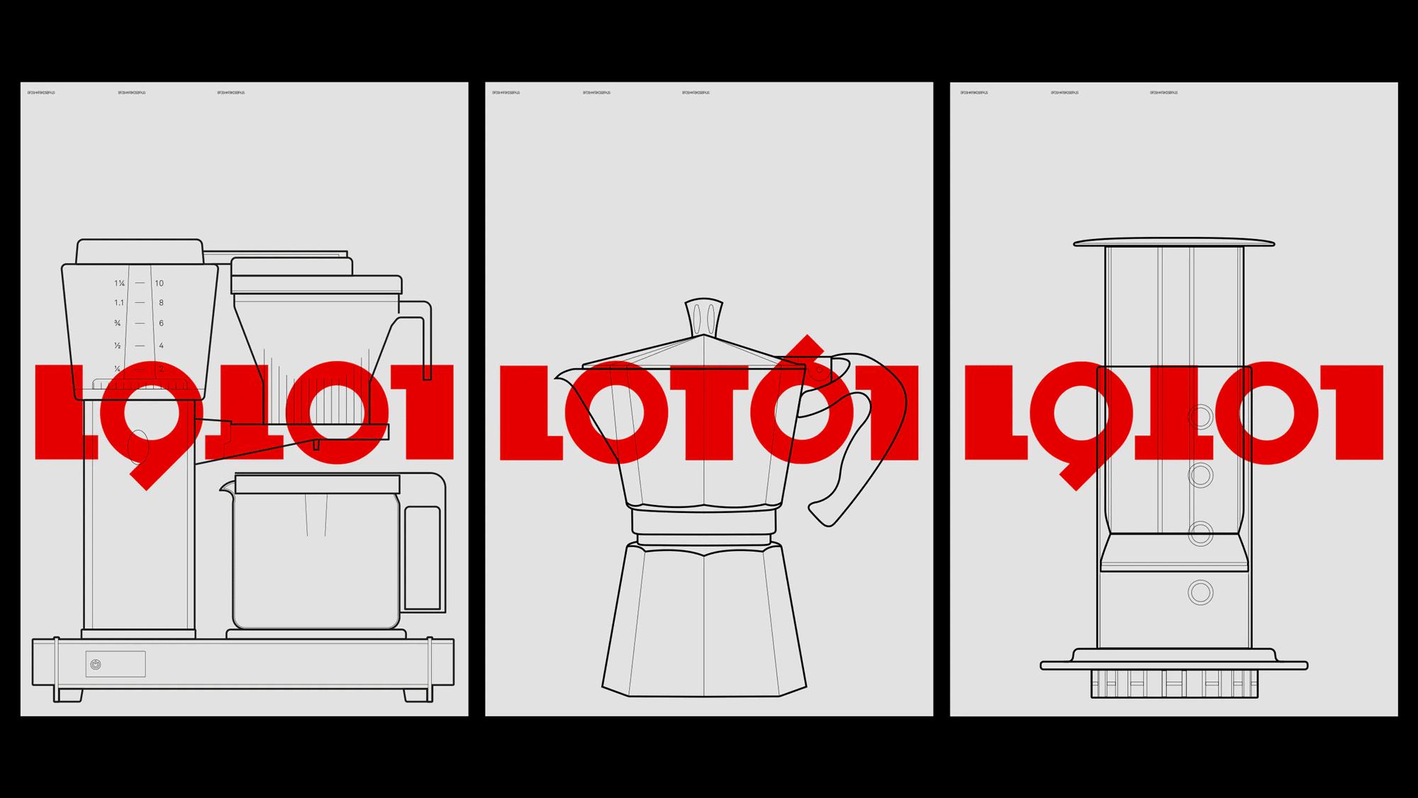 New Logo and Identity for Lot61 by Smörgåsbord