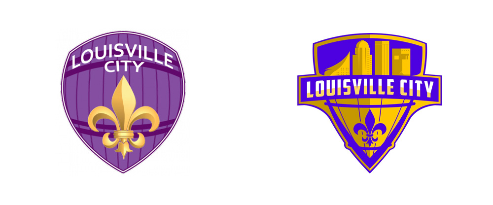 New Logo for Louisville City FC by Michael Manning