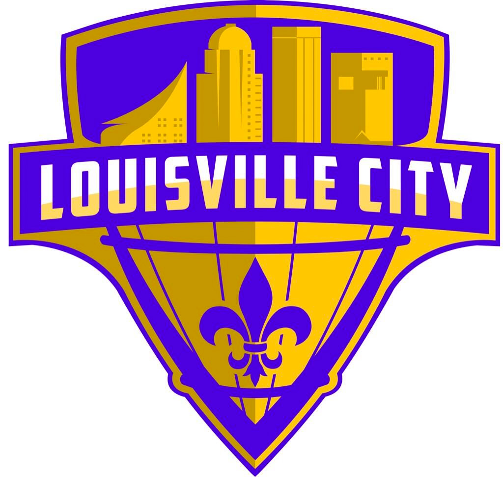brand new new logo for louisville city fc by michael manning