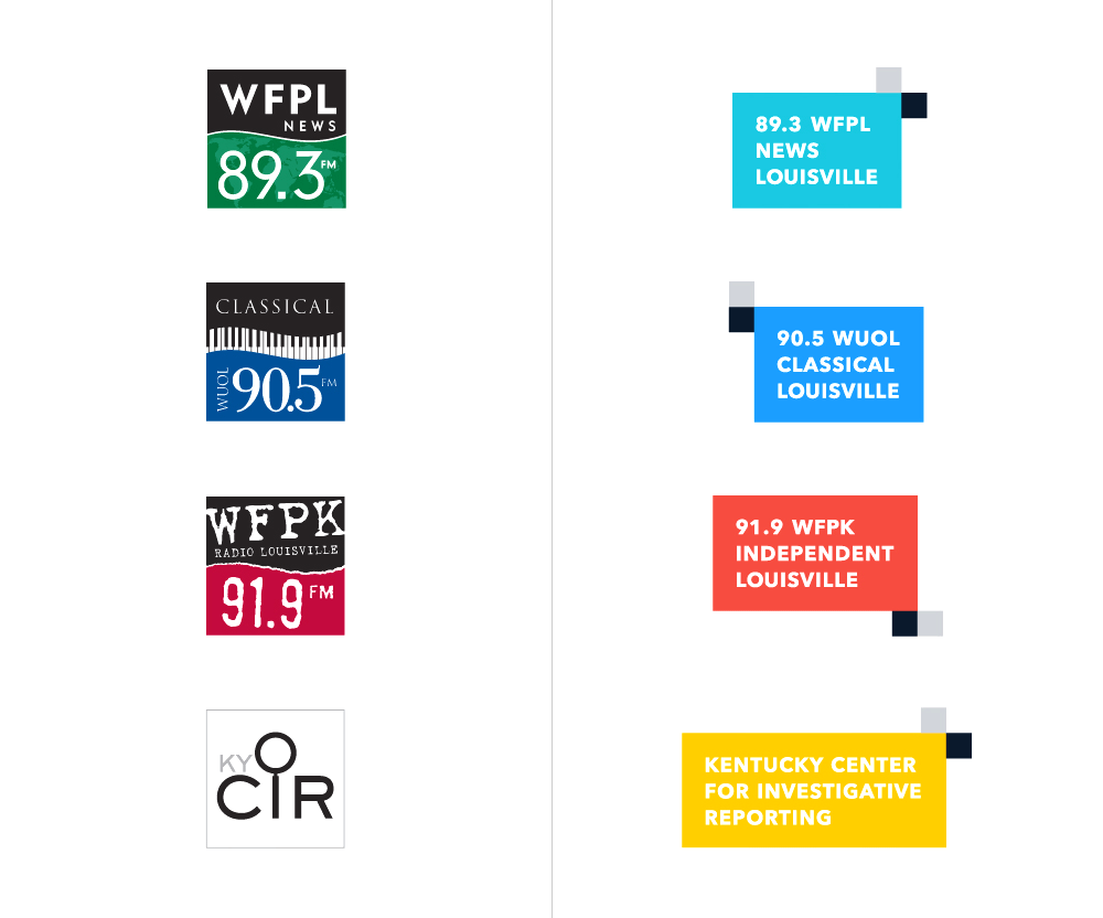 New Logo and Identity for Louisville Public Media by Bullhorn