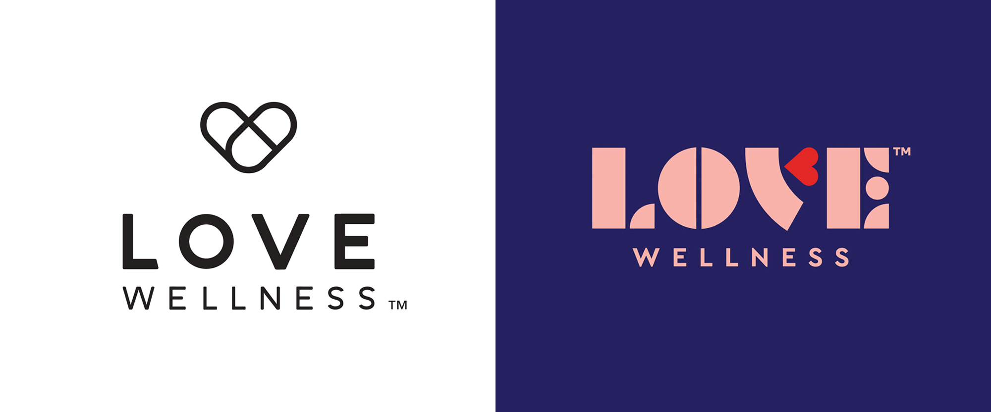 New Logo, Identity, and Packaging for Love Wellness by Lobster Phone