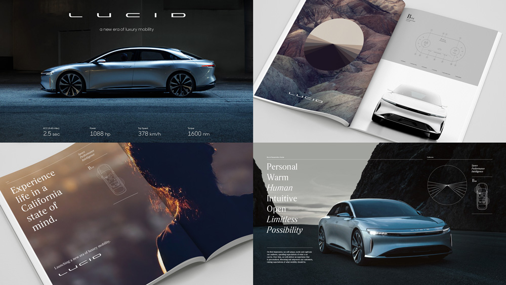 New Logo and Identity for Lucid Motors by Tolleson