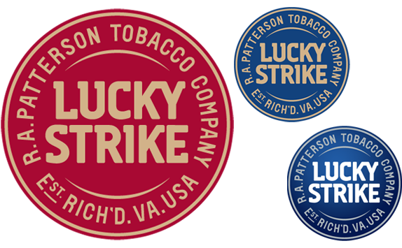 Lucky Strike Logo and Packaging