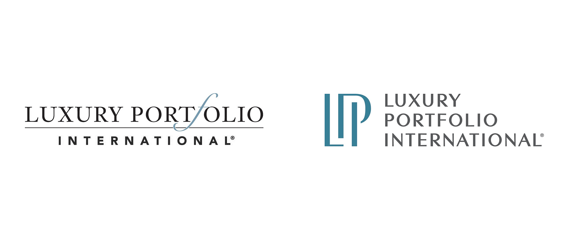 New Logo for Luxury Portfolio International by 1000watt