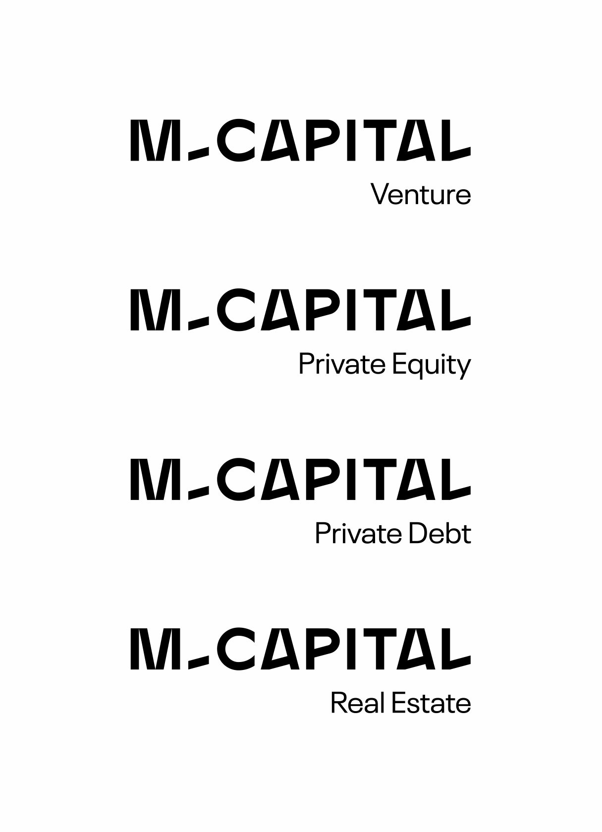 New Logo and Identity for M Capital by Brand Brothers