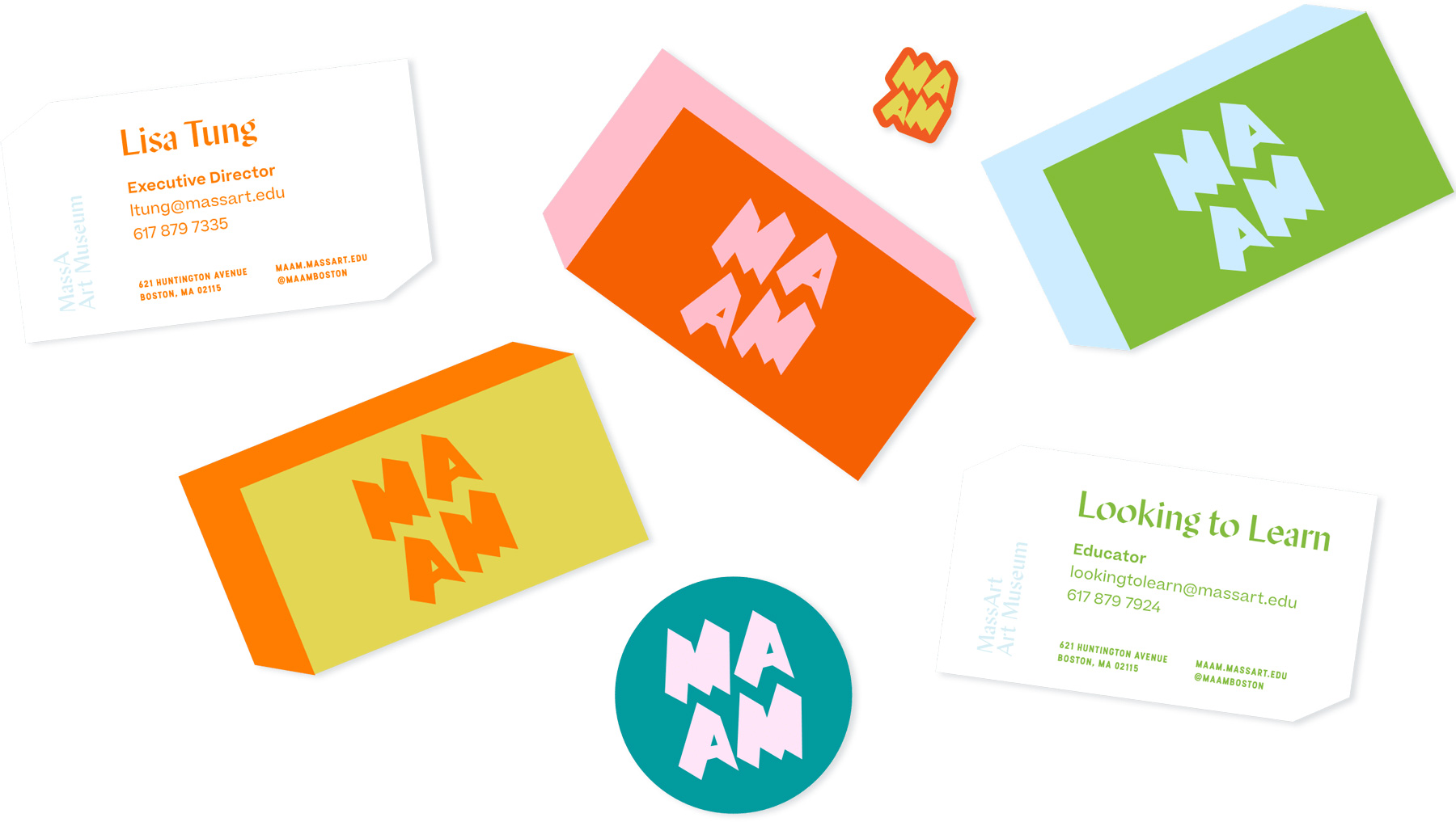 New Logo and Identity for MAAM by Moth Design