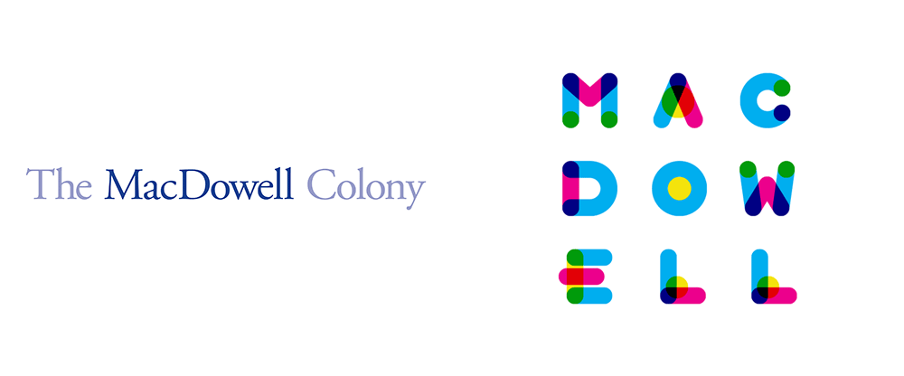 New Logo and Identity for MacDowell Colony by Digitas/45 Irving