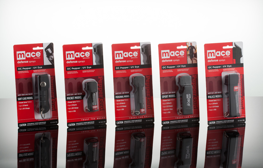 New Packaging for Mace done In-house