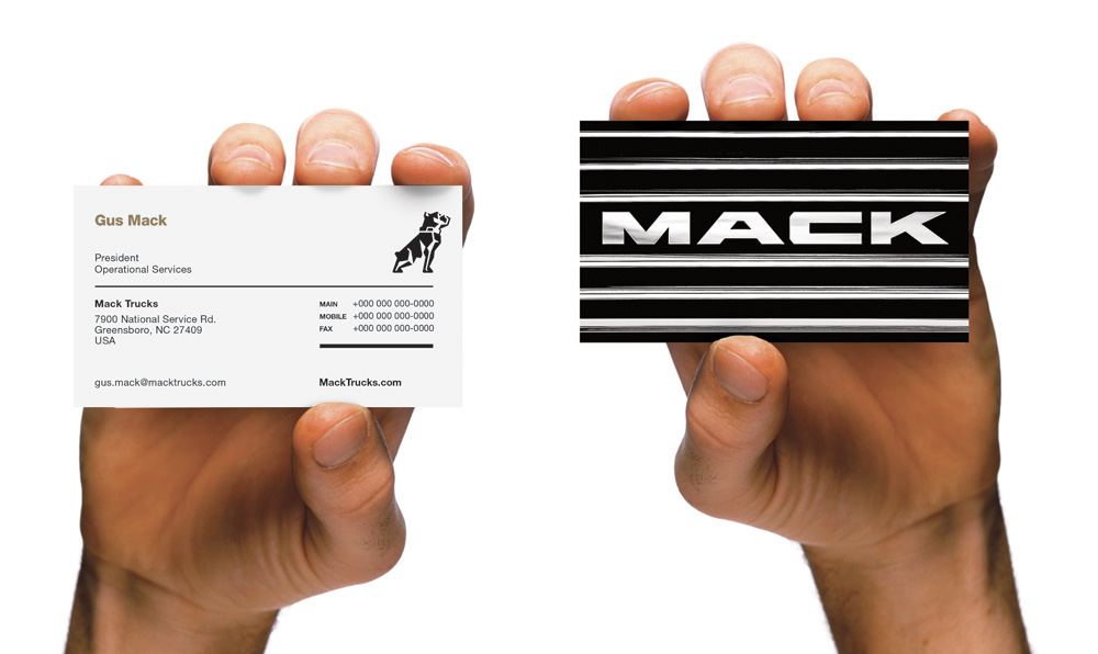 Brand New: New Logo and Identity for Mack Trucks by VSA Partners
