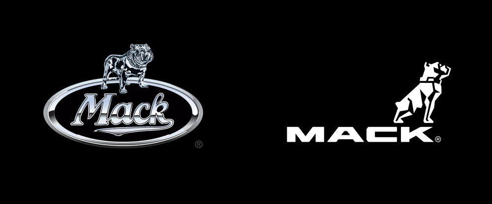 Brand New New Logo And Identity For Mack Trucks By Vsa Partners