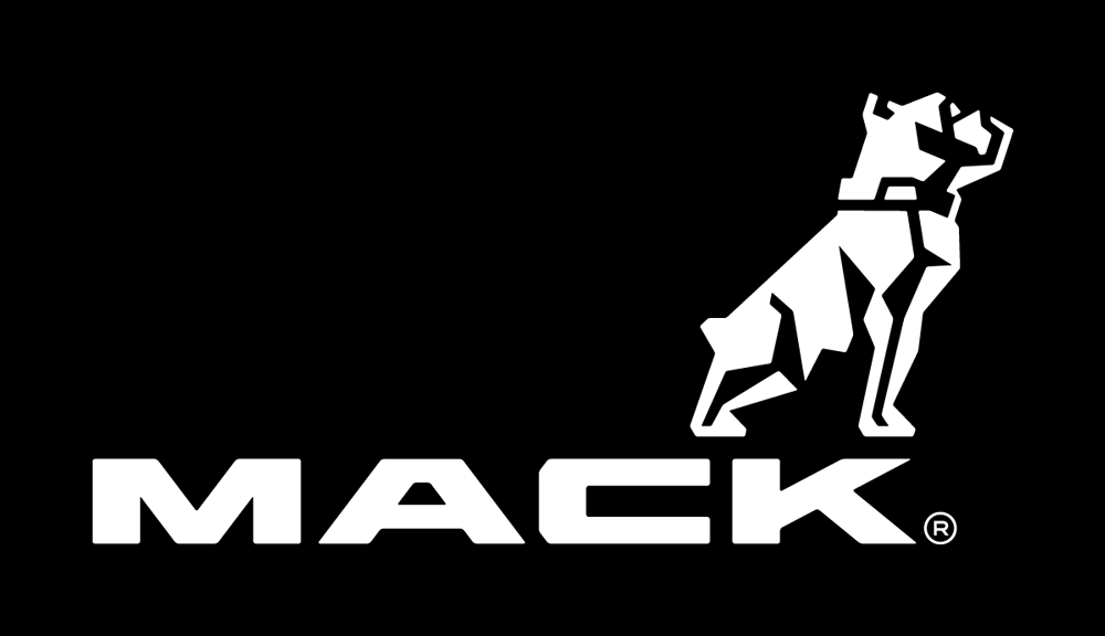 brand new new logo and identity for mack trucks by vsa