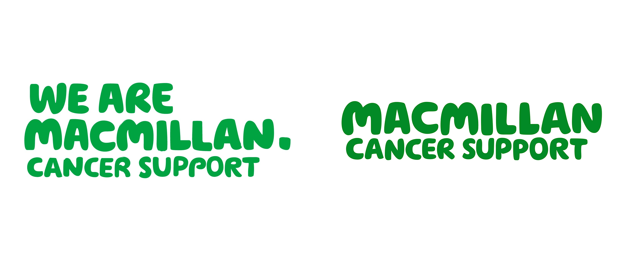 New Logo and Identity for Macmillan Cancer Support by Dragon Rouge