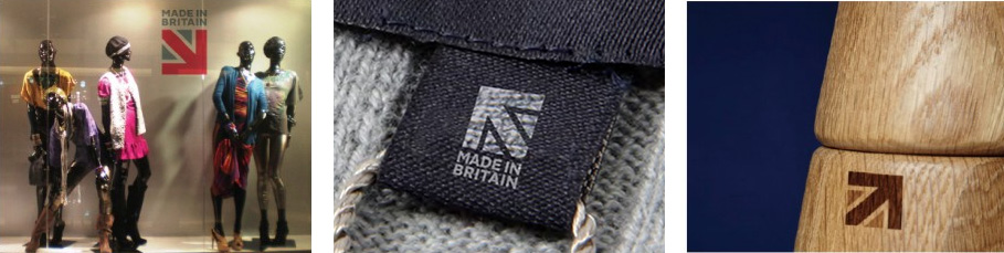 New Logo for Made in Britain by The Partners