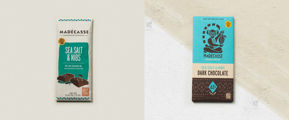New Logo and Packaging for Madécasse by Ptarmak