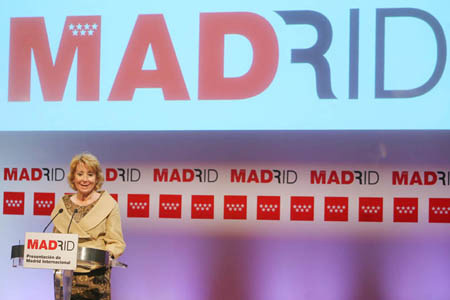 Comunidad de Madrid Press Conference