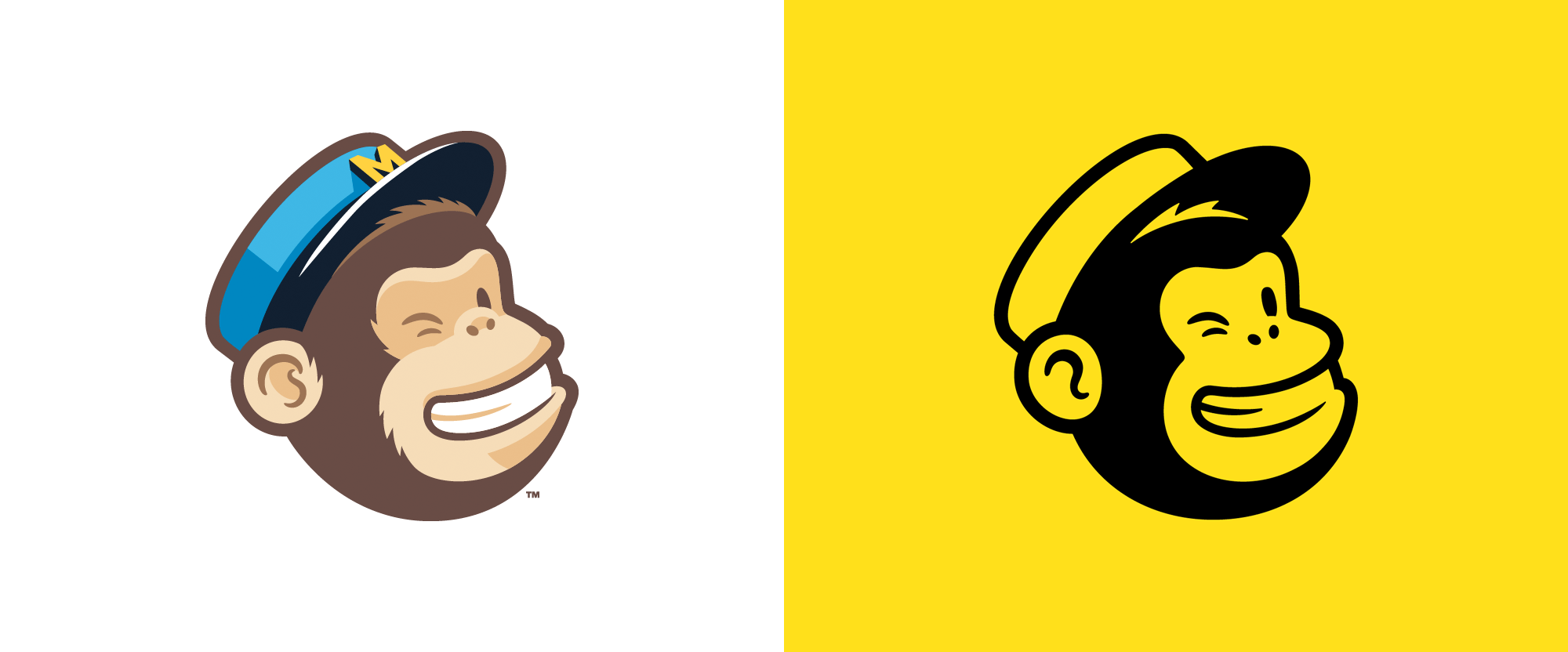 New Logo and Identity for Mailchimp by COLLINS and In-house