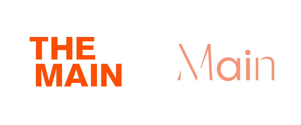New Logo and Identity for The Main by Use All Five