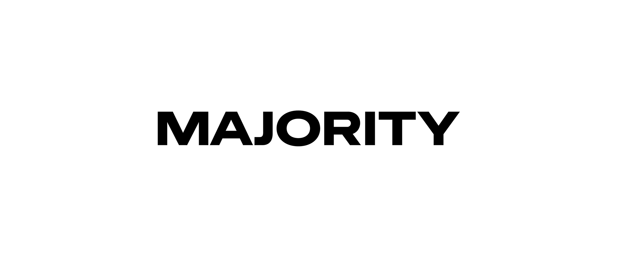 New Logo and Identity for Majority by Bold