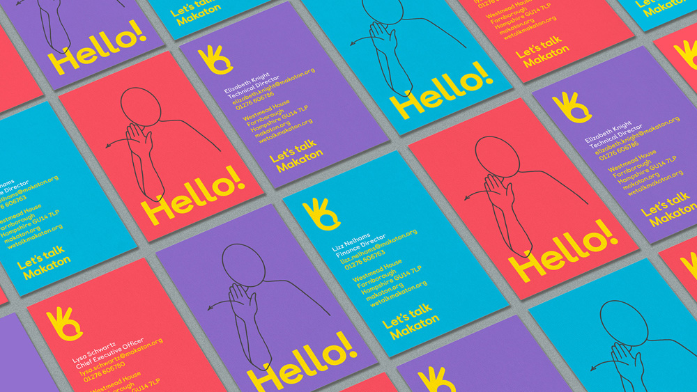 Brand New: New Logo and Identity for Makaton Charity by MultiAdaptor