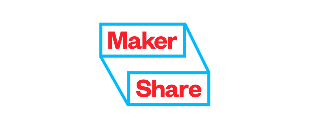 New Logo and Identity for Maker Share by Astro Studios