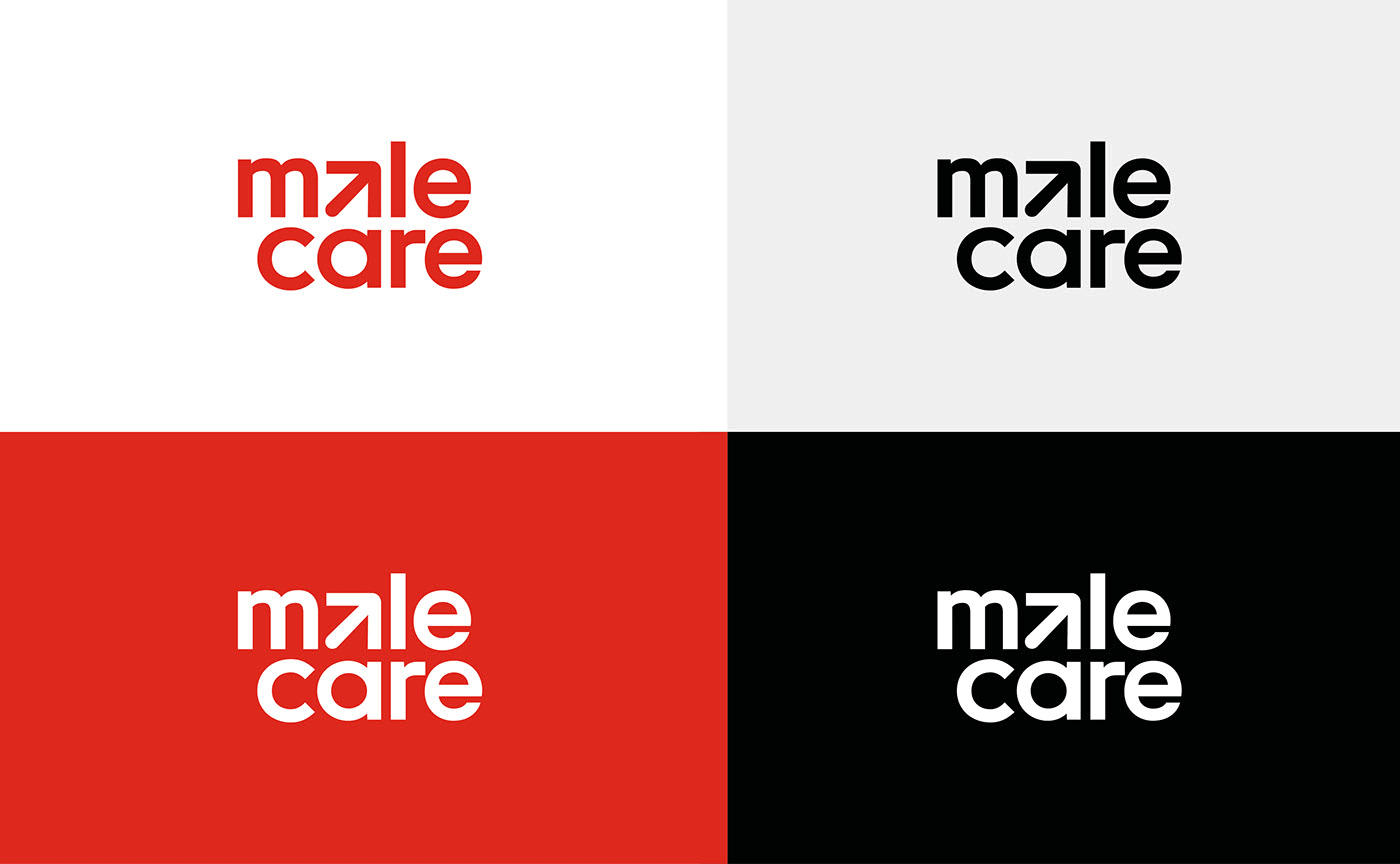 New Logo and Identity for Malecare by Graphéine