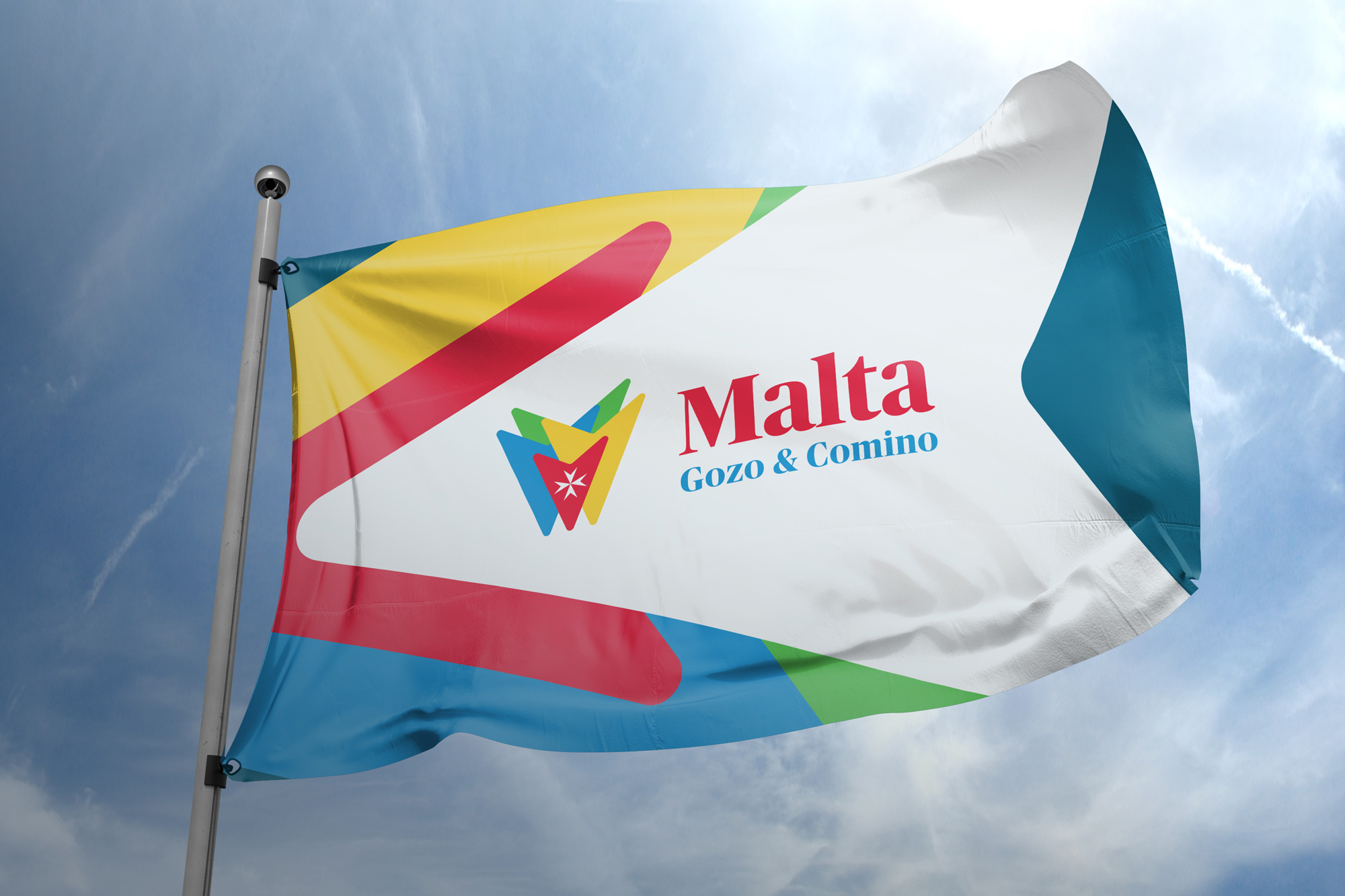 New Logo and Identity for Malta by OLIVER