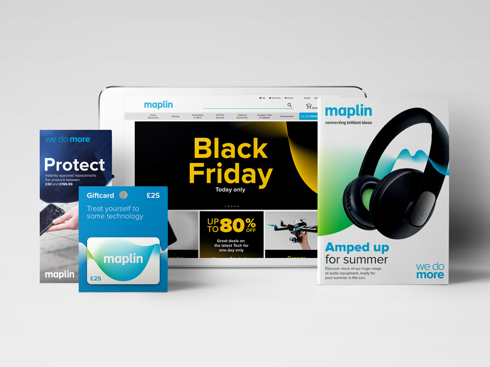 New Logo and Identity for Maplin by SomeOne