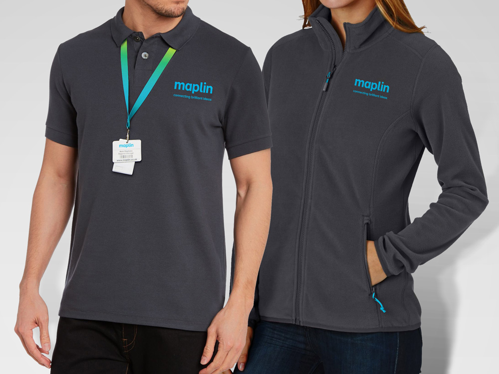 Brand New: New Logo and Identity for Maplin by SomeOne
