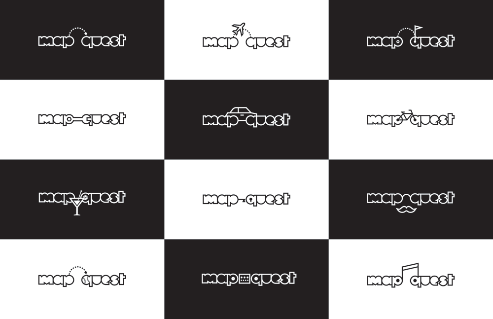 New Logo and Identity for MapQuest by Futurebrand