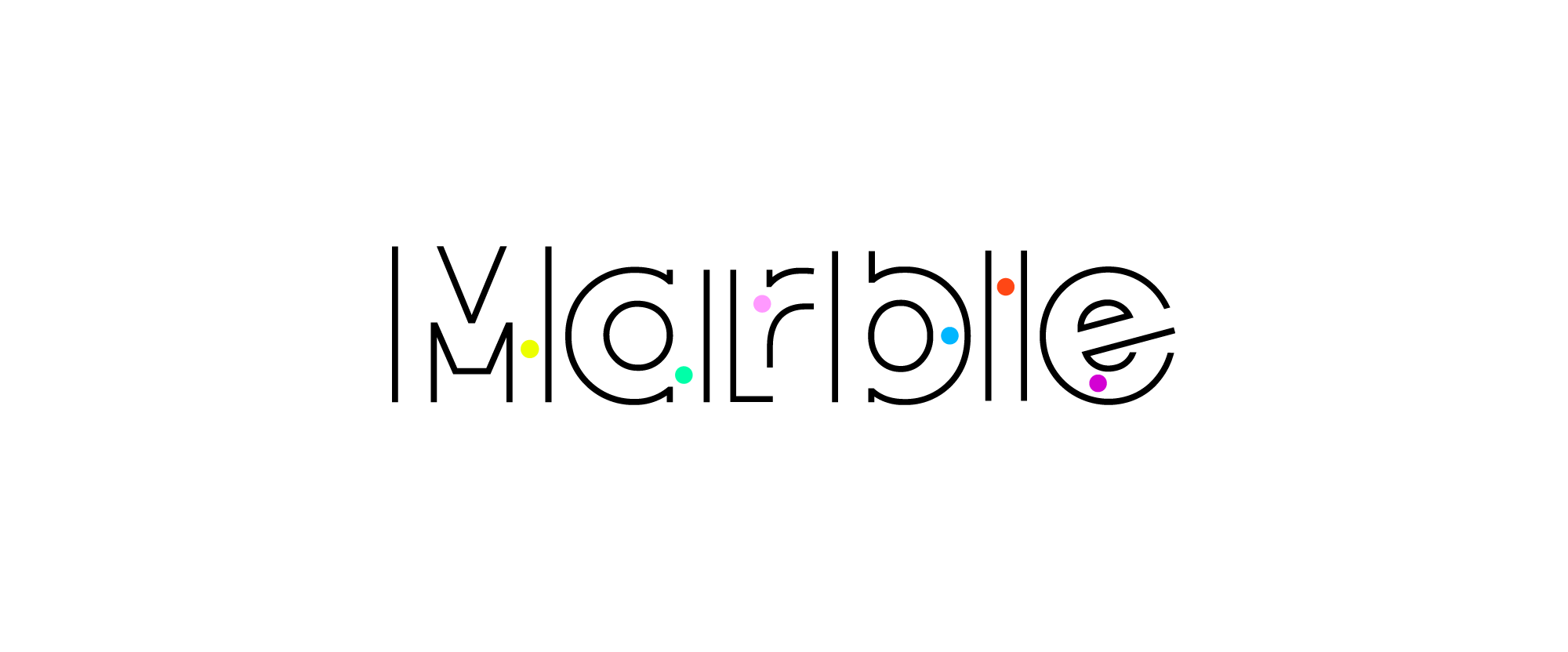 New Name, Logo, and Identity for Marble by Jones Knowles Ritchie