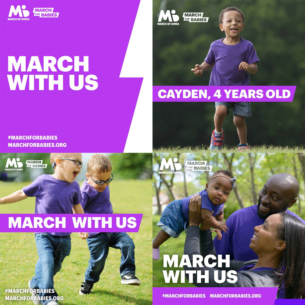 New Logo for March of Dimes