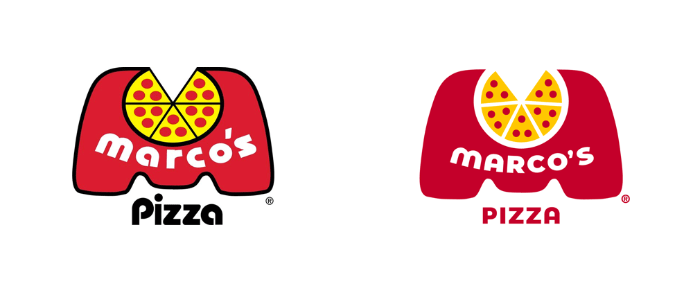 Brand New: New Logo for Marco\'s Pizza