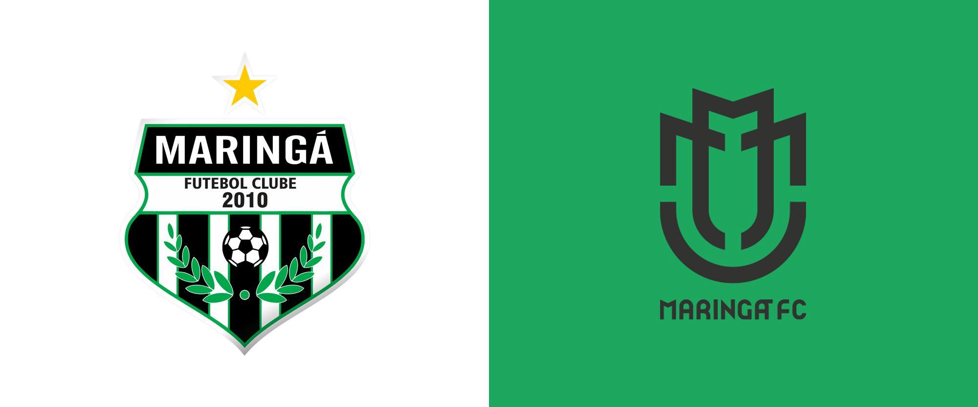 New Logo and Identity for Maringá Futebol Clube by Brandigno
