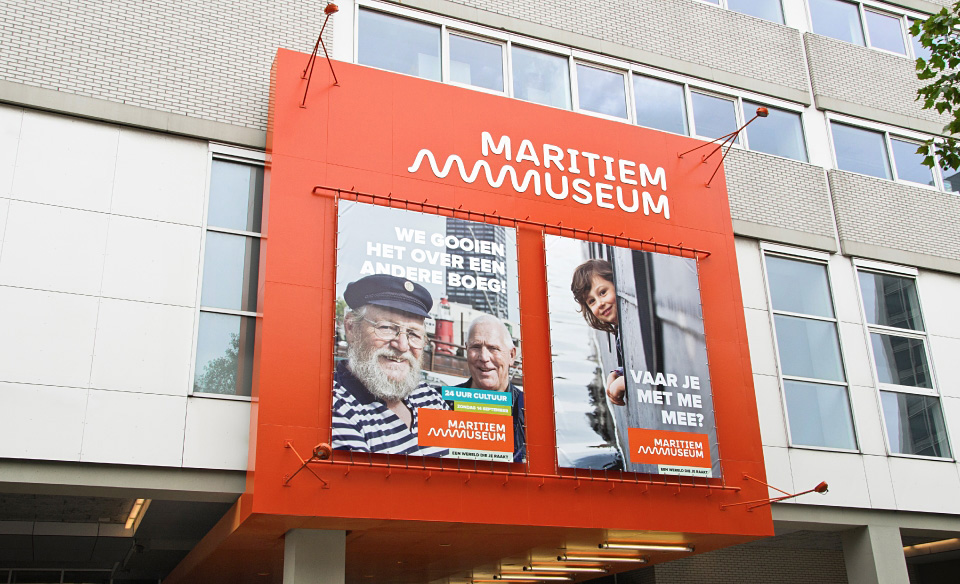 New Logo for Maritiem Museum by Taken by Storm