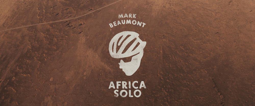 New Logo for Mark Beaumont's Africa Solo Ride by O Street