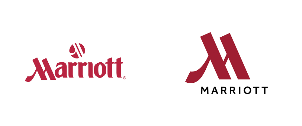 New Logo and Identity for Marriott Hotels by Grey NY