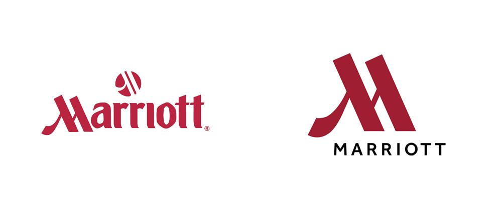 New Logo And Ideny For Marriott Hotels By Grey Ny